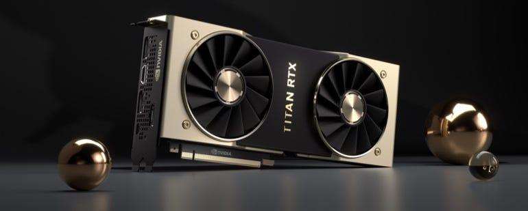 """Nvidia's TITAN RTX """"T-Rex"""""""