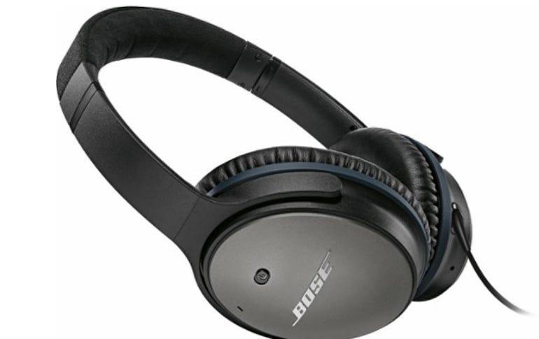 Bose QuietComfort 25 noise-canceling headphones