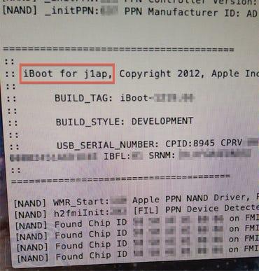 iBoot screenshot outs iPad 3's A6 processor - Jason O'Grady