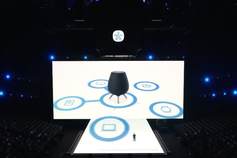 Galaxy Home: Six speakers inside