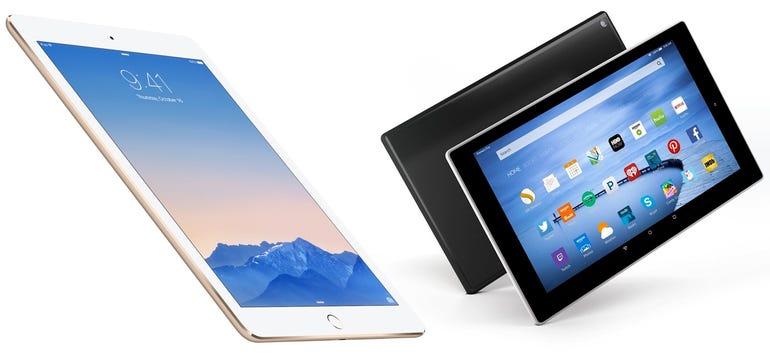 iPad Air 2 vs. Fire 10 HD