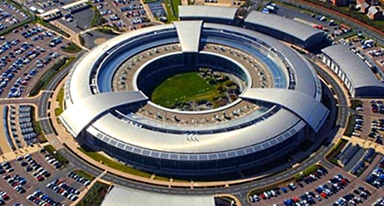 Aeiral view of GCHQ, the UK's cybersecurity centre