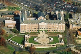 Culinary Institute of America, taken from the air