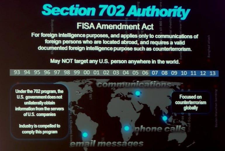 NSA Black Hat keynote