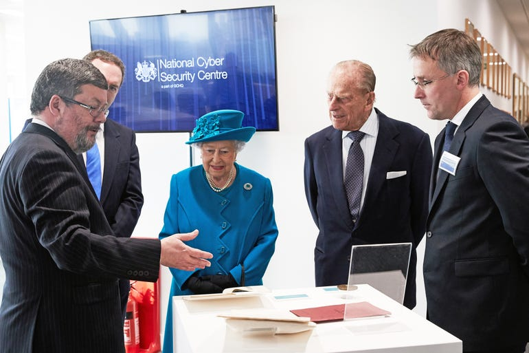 Queen visits NCSC