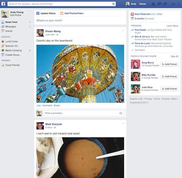 facebook new new