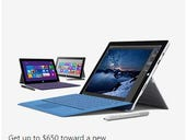 Microsoft cuts $100 off base Surface Pro 3 price, launches trade-in program