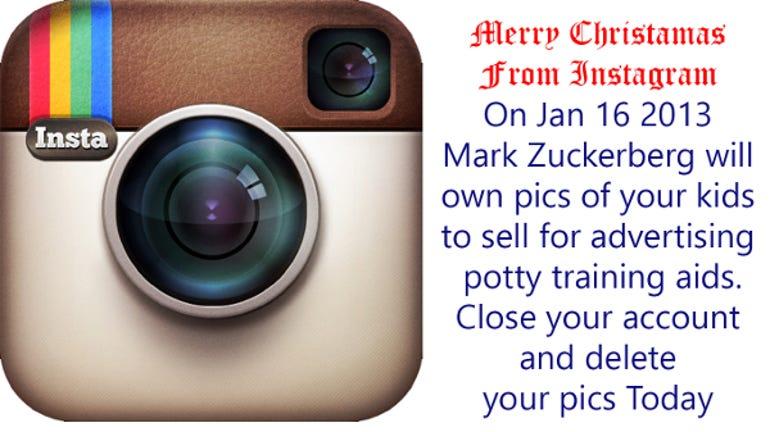 Instagram-All your Pictures belong to FaceBook