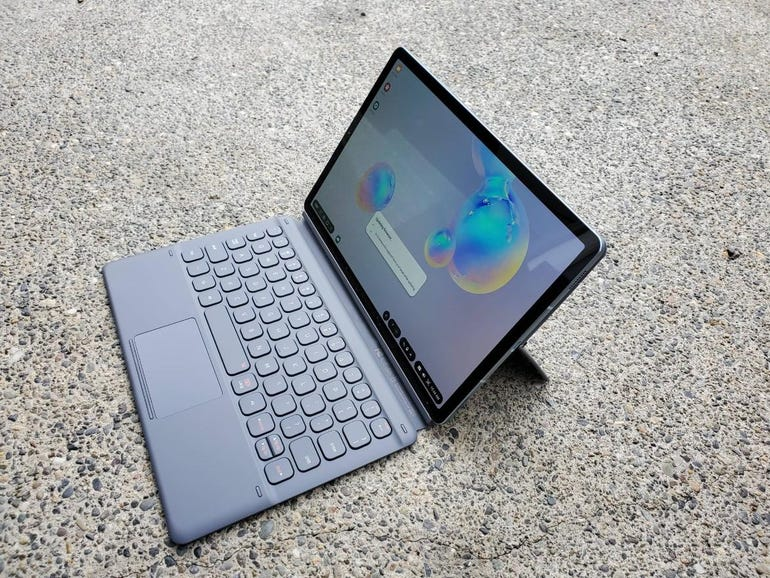 Tab S6 and Book Cover Keyboard accessory
