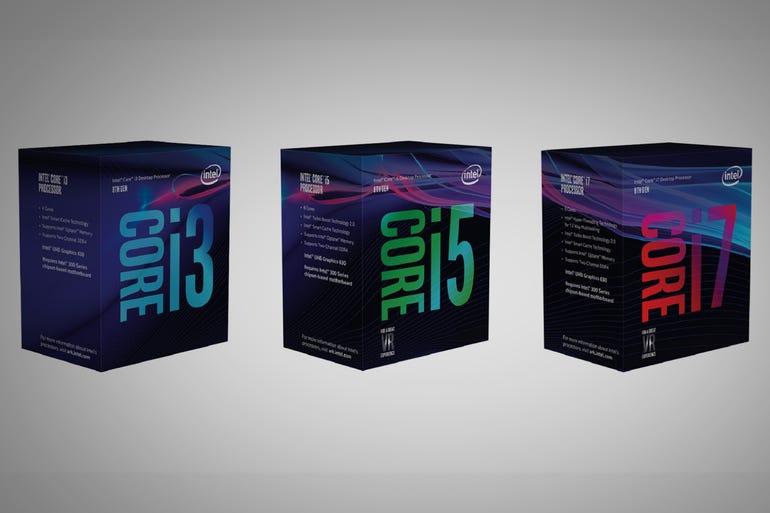 New 8th-generation Intel Core processors
