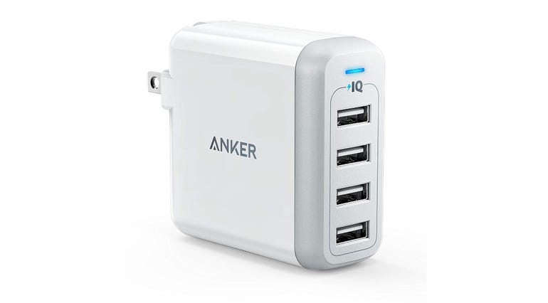 Anker 40W 4-port USB wall charger $25.99