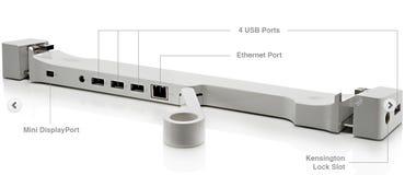 Landing Zone dock for MacBook Air