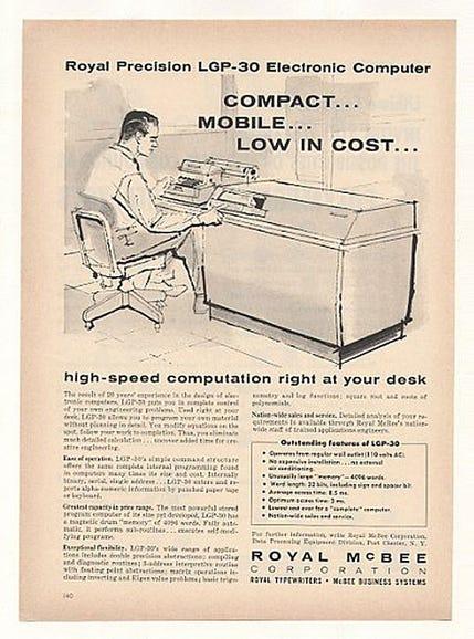 Royal McBee compact computer