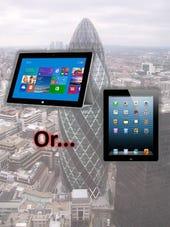 Surface or iPad at work