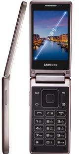 Samsung announces the Hennessy dual screen Android flip phone