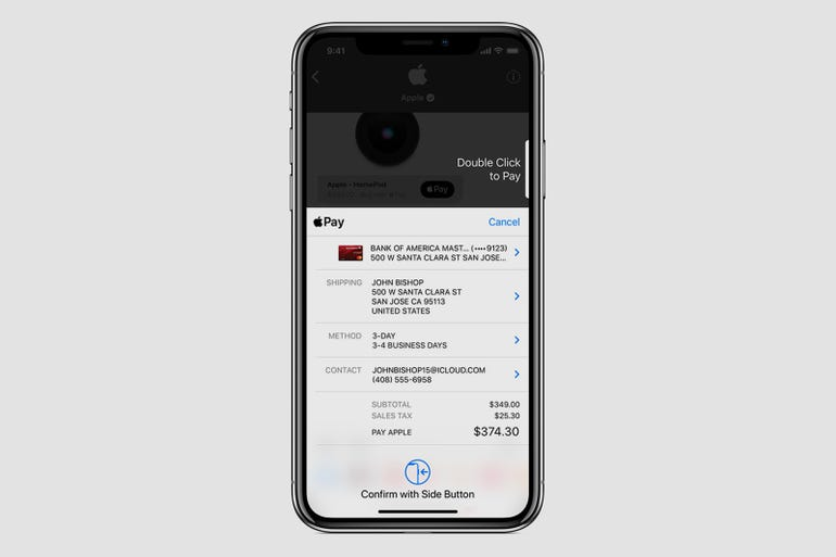 Business Chat: Checkout with Apple Pay