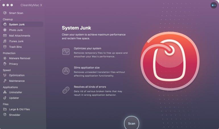 CleanMyMac X - System Junk