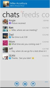 BlackBerry kicks off BBM for Windows Phone beta test program