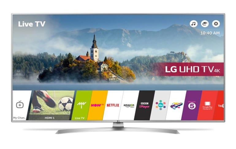 Currys: LG 4K smart TV