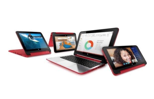 360 degree hinged laptops, the HP Pavilion x360