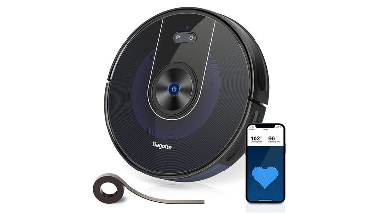 Bagotte BG800 multi-function robot vacuum review affordable sweeping with optional wet mopping zdnet