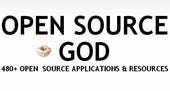 Open Source God logo from Mashable.com