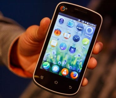 Mozilla shows off $25 Firefox OS smartphone prototype