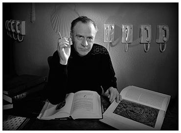 (Portrait of Marshall McLuhan by Yousuf Karsh. Copyright the Estate of Yousuf Karsh)