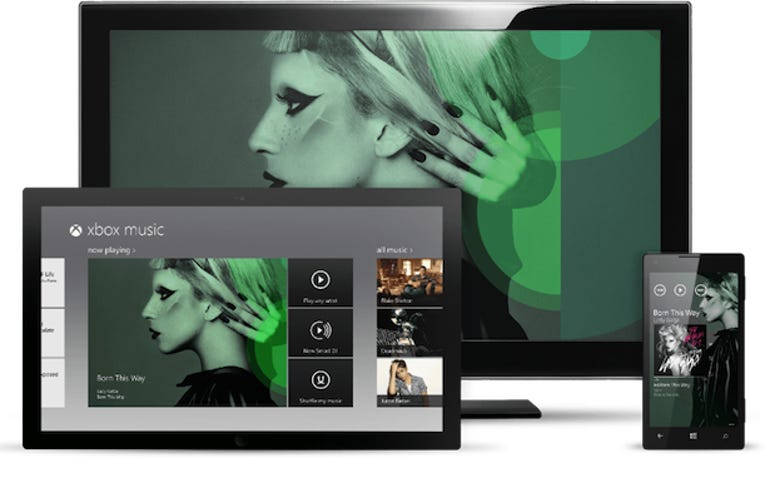 Microsoft reveals the one music service to rule them all with Xbox Music