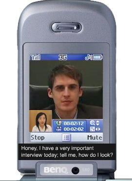 BenQ S80 phone