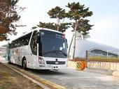 KT tests driverless bus at Korean airport