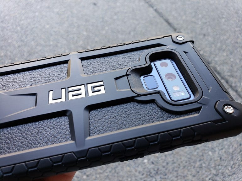 Back view of the UAG Monarch