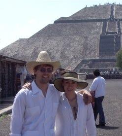 Teotihuacán, near Mexico City
