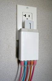 Anker Power IQ 40W 5-port desktop charger - Jason O'Grady