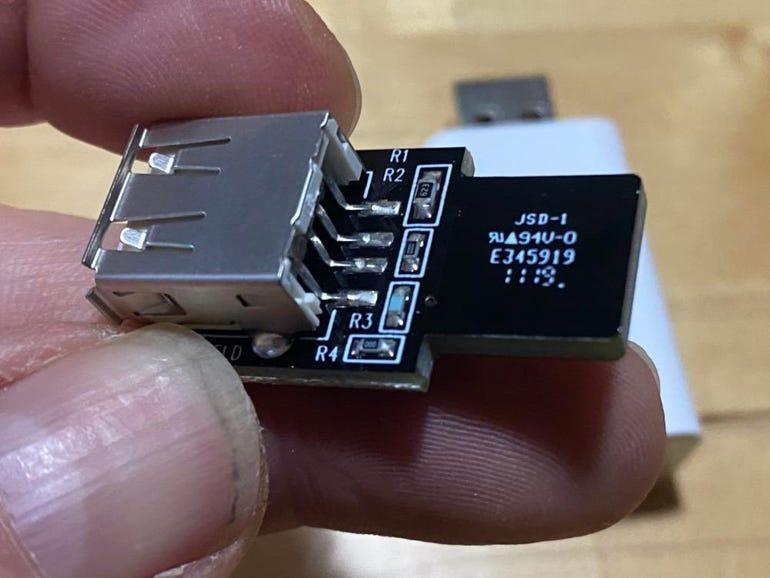 SyncStop USB Condom
