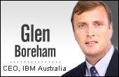 Glen Boreham, IBM Australia CEO