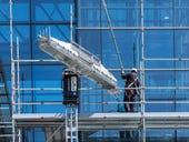 Scaffolding robot buttresses tipping construction industry