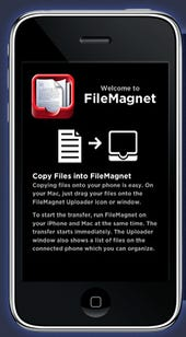 Great iPhone App: FileMagnet
