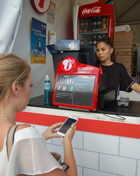 Samsung Galaxy S3's Olympics mobile payments
