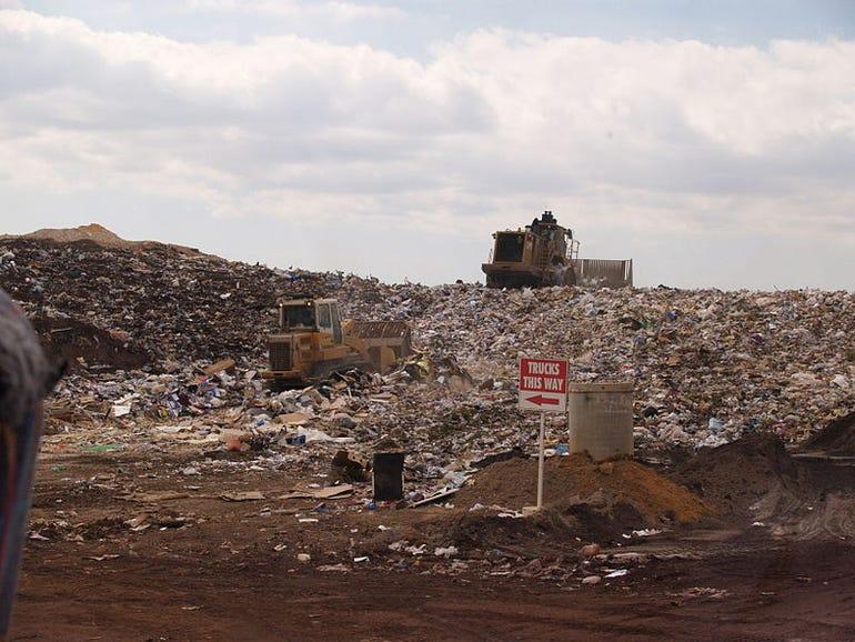 Bitcoin landfill ZDNet Eileen Brown