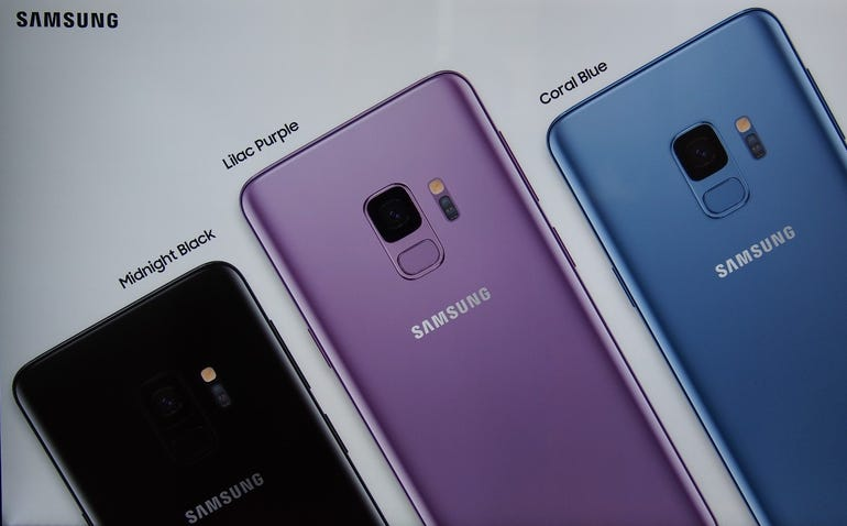 Three new colors for the Samsung Galaxy S9 and S9 Plus