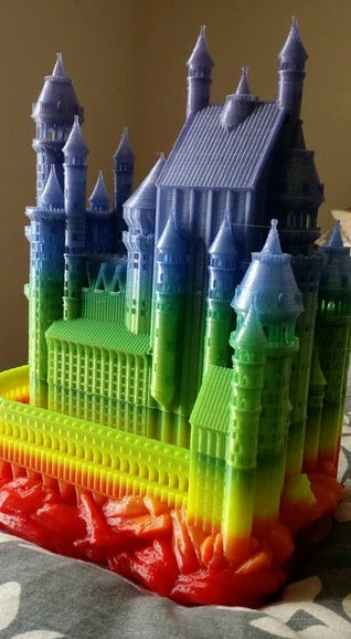 Fantasy Castle by Luke Sideras