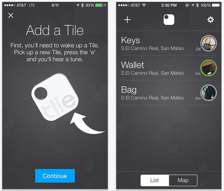 The Tile iOS app - Jason O'Grady