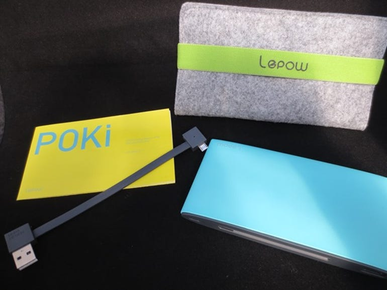 Lepow Poki, Moonstone and Virtue external charger review ZDNet
