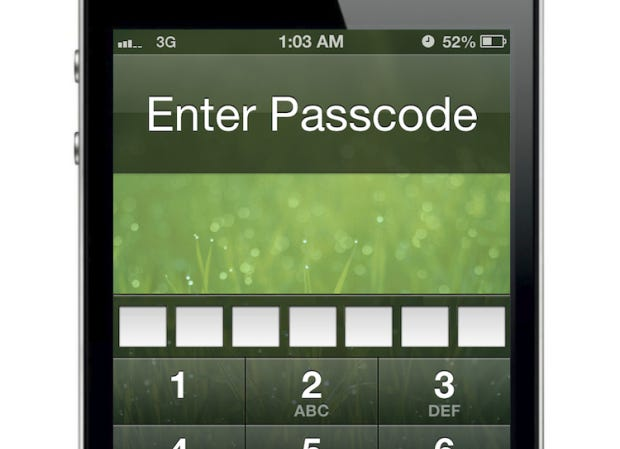Longer PIN code for enhanced security