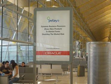 Oracle airport advertising