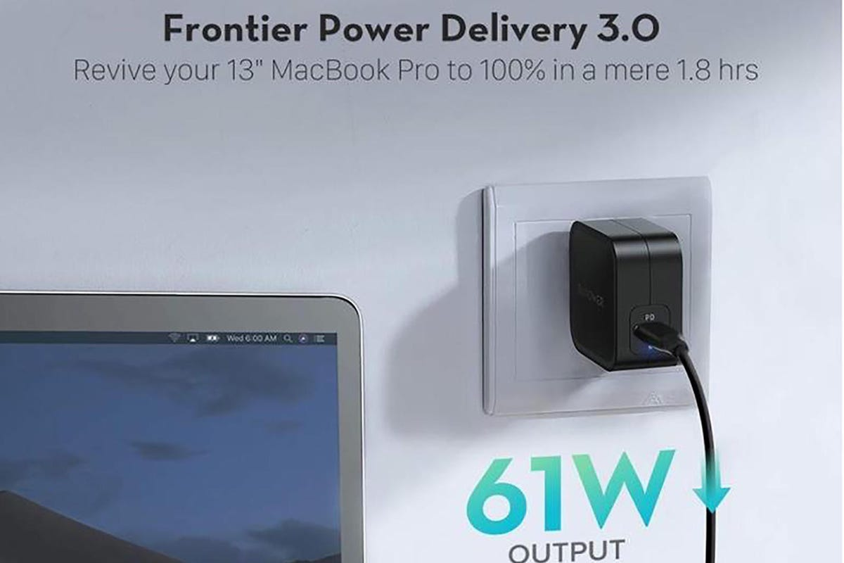 RAVPower 61W PD 3.0 USB-C charger