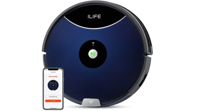 ILife A80 Max robot vacuum no-nonsense cleaning from this powerful, efficient robot zdnet
