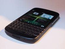 BlackBerry Q10: Hands on with the elusive keyboard-equipped handset