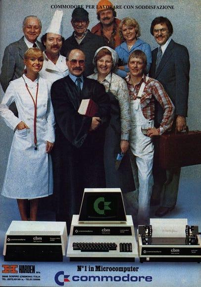 Commodore ad